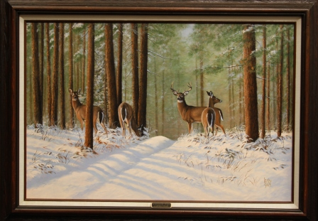 Deer in the Woods 2