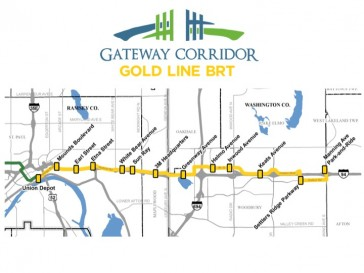 Proposed Gateway Corridor, image courtesy of Washington County