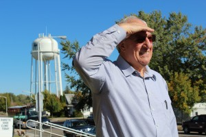Sen. LeRoy Stumpf (DFL-Plummer) led the Senate Capital Investment Committee on a tour of the Staples Community Center in Staples, Minn.