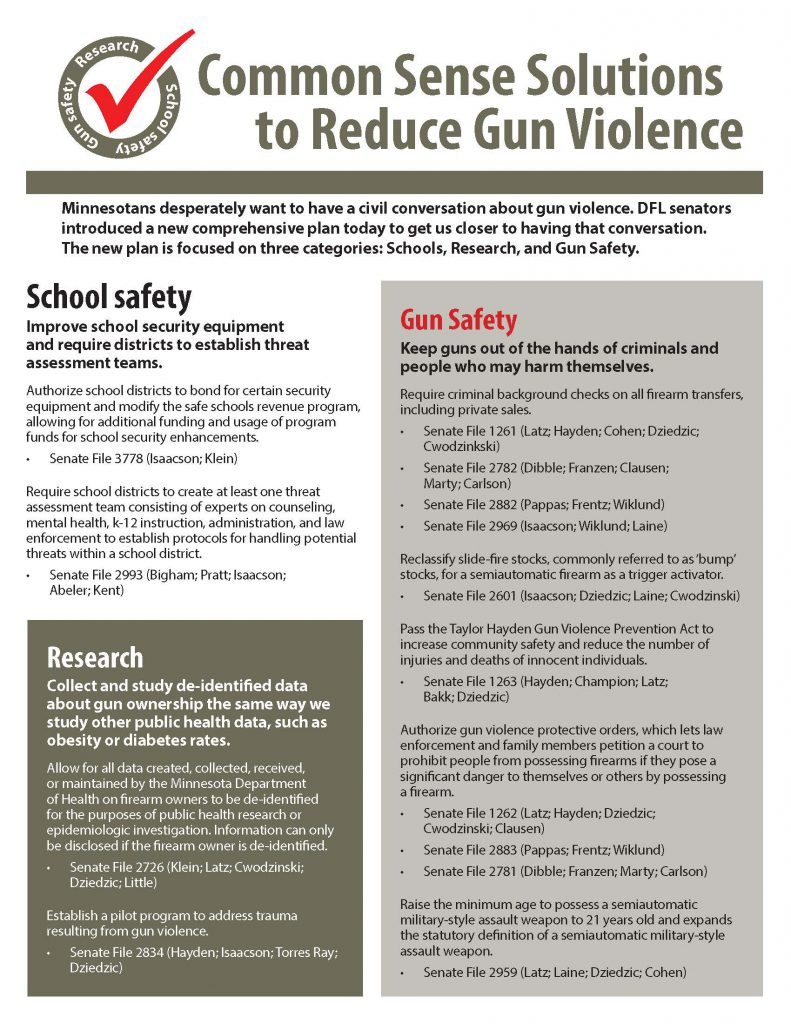 Senate's first comprehensive plan to address gun violence_March 26, 2018 (1)_Page_1