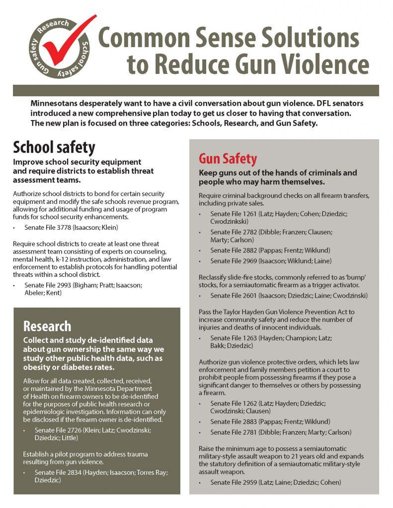 Senate's first comprehensive plan to address gun violence_March 26, 2018 (1)_Page_1